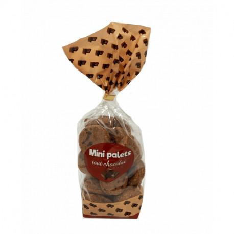 Mini palets tout chocolat - Sachet 200g