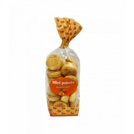 Mini palets mandarine - Sachet 200g