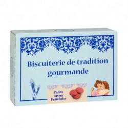 Galettes Framboise - Boîte carton 300g