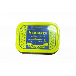 Sardines à l'huile d'olive 115g