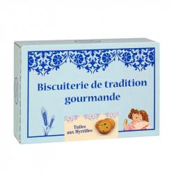 Tuiles aux Myrtilles - Boîte carton 300g