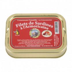 Filets de sardines à la sauce armoricaine